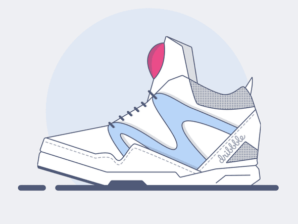 Reebok Pumps Vector Illustration by @ZTHall